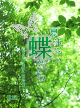 【再々販分】夏休みの蝶たち