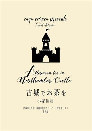 古城でお茶を